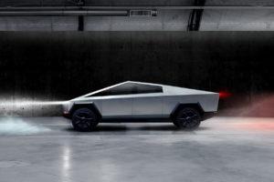 Tesla Cybertruck profile