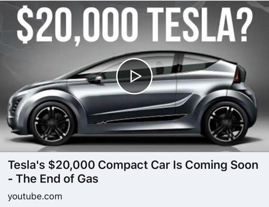 Tesla Model 2 SUV design render