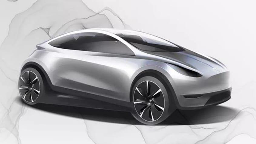 Tesla Model 2 render Shanghai
