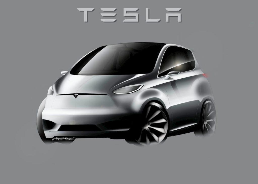 Tesla Robotaxi render