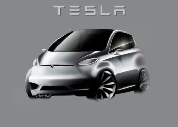 4 different looks of the Tesla Model 2 (compact Tesla) arriving in 2023