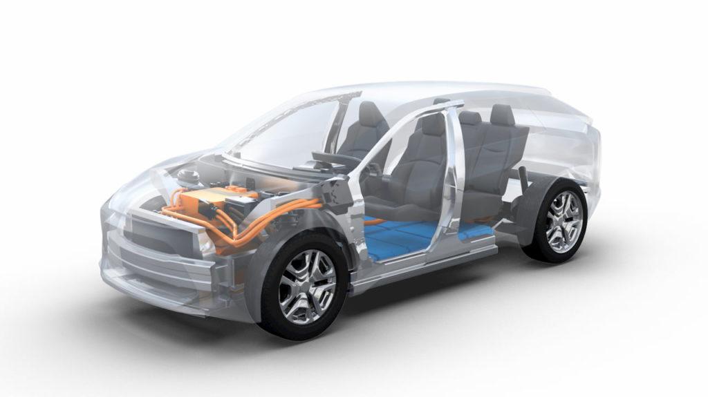 Toyota Subaru BEV platform