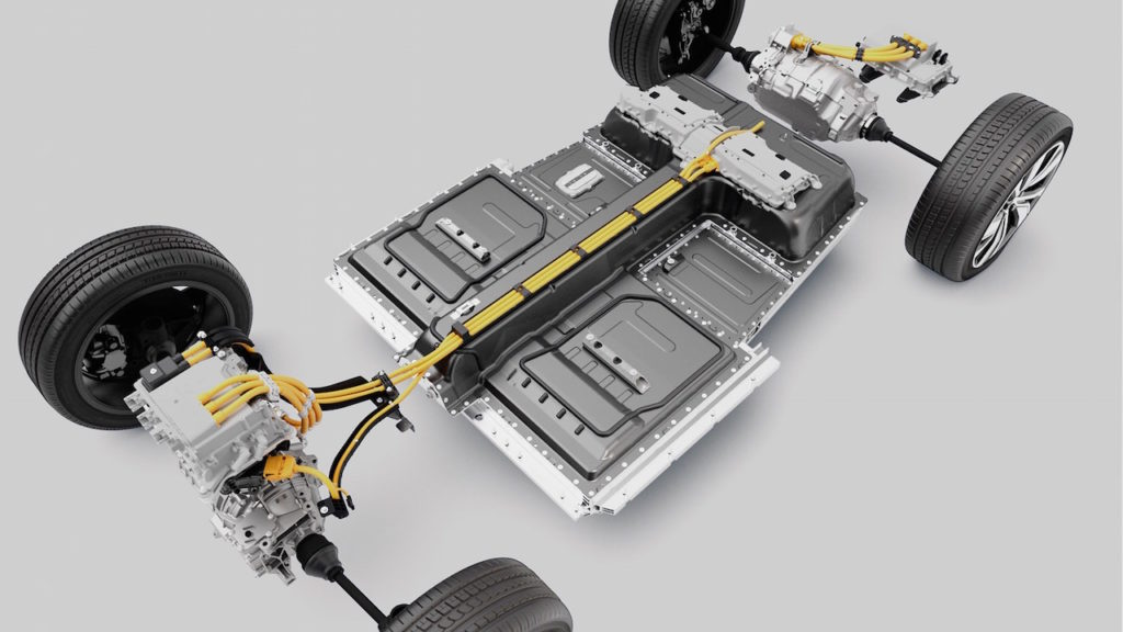 Volvo XC40 Recharge Battery Package to be used on the Volvo C40 Recharge