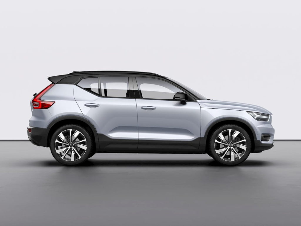 Volvo XC40 Recharge side profile