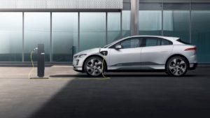2021 Jaguar I-Pace charging
