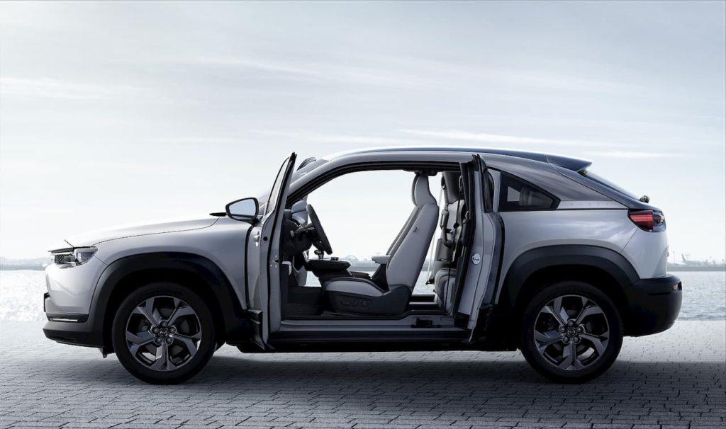 2021 Mazda MX-30 EV doors