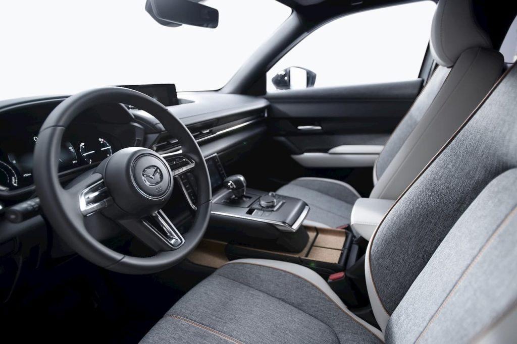 2021 Mazda MX-30 EV interior