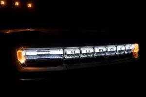 2022 GMC Hummer EV headlights marker lights