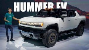 2022 GMC Hummer EV live image unveil