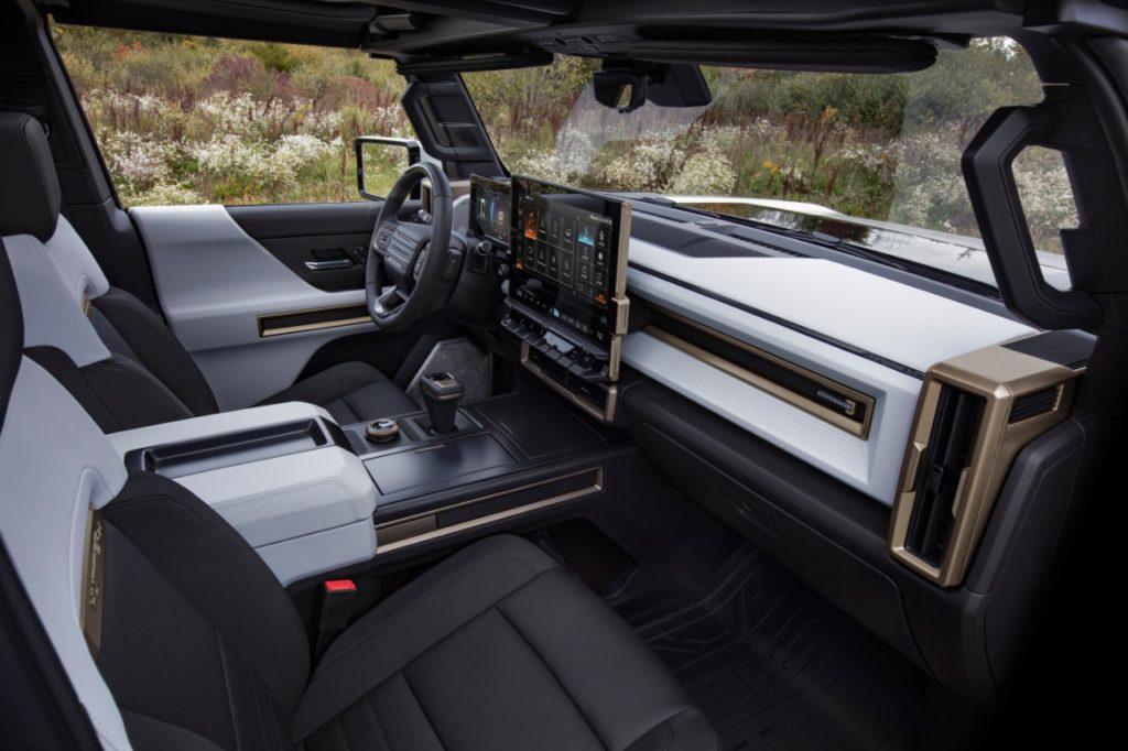 2022 Hummer EV Edition 1 interior