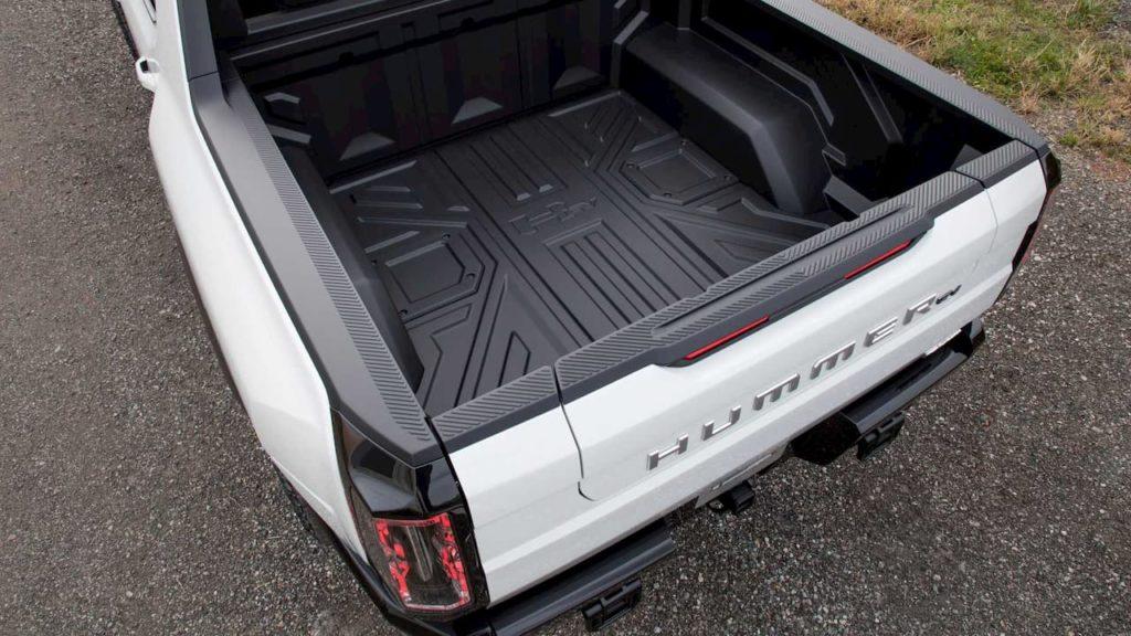 2022 Hummer EV load bed