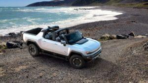 2022 Hummer EV open top