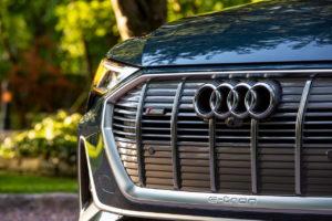 Audi e-tron Sportback front details
