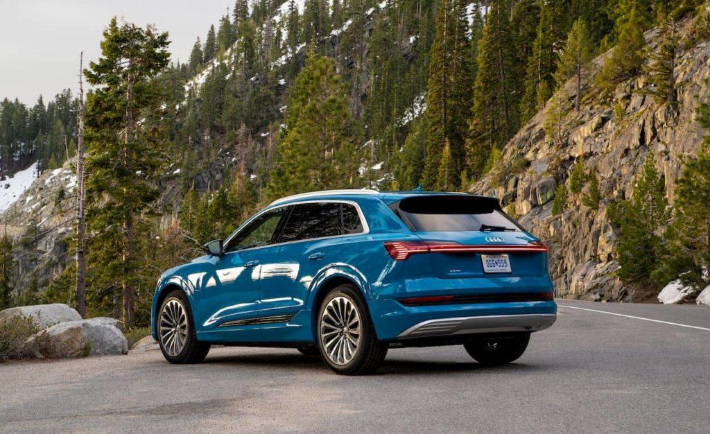 Audi e-tron rear quarters