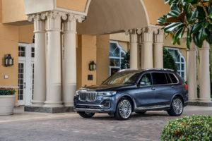 BMW X7 xDrive40i DPE front quarters