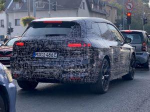BMW iX BMW iNext spy shot