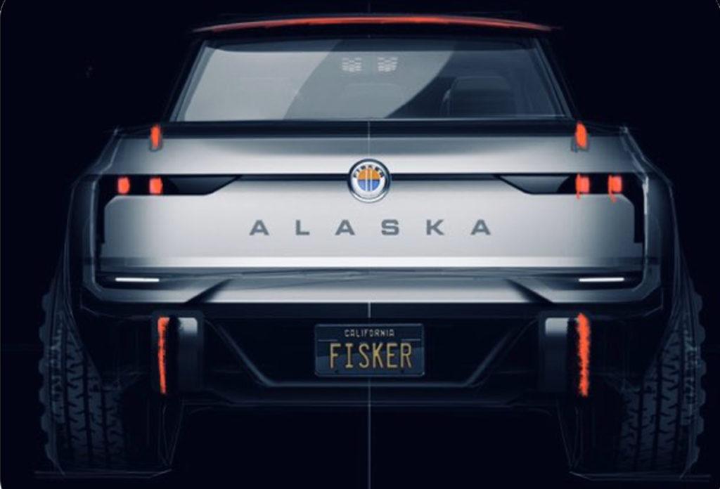 Fisker Alaska upcoming electric pickup truck