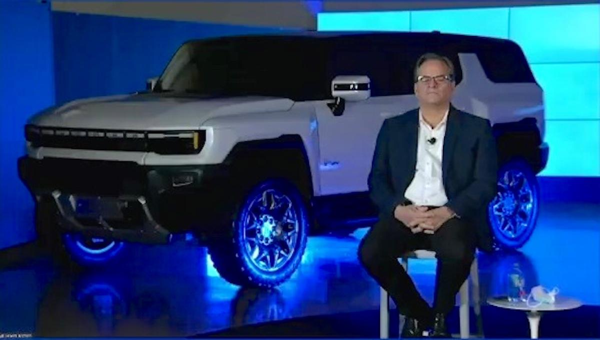 GMC Hummer EV SUV with Doug Parks