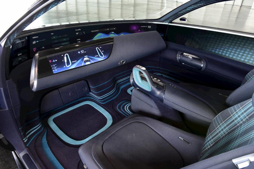 Hyundai Prophecy Hyundai Ioniq 6 dashboard