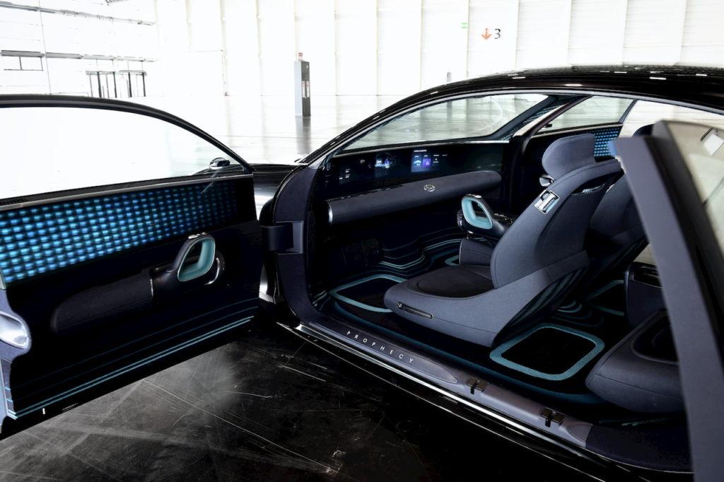 Hyundai Prophecy Hyundai Ioniq 6 interior