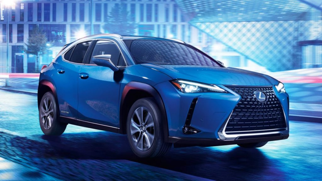 Lexus UX300e electric SUV