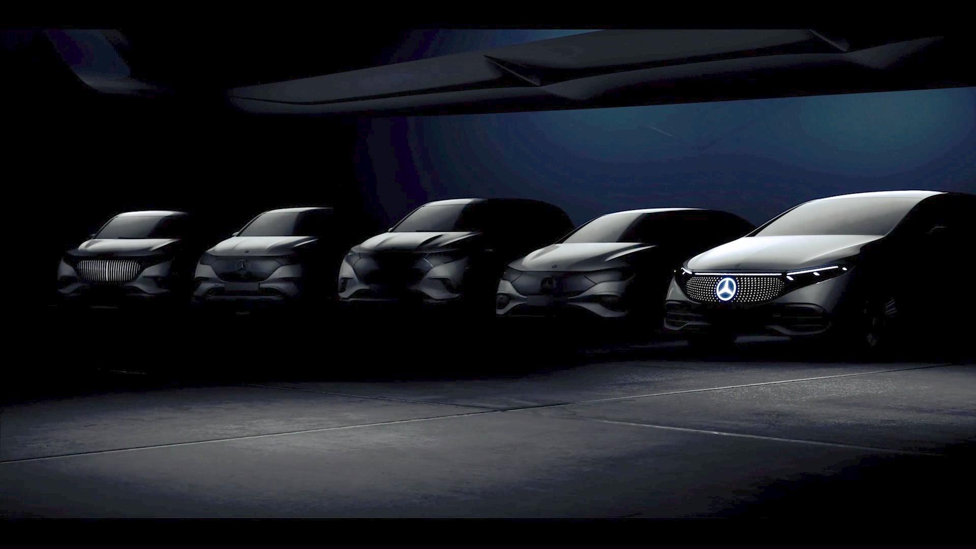 Mercedes EQ range teaser
