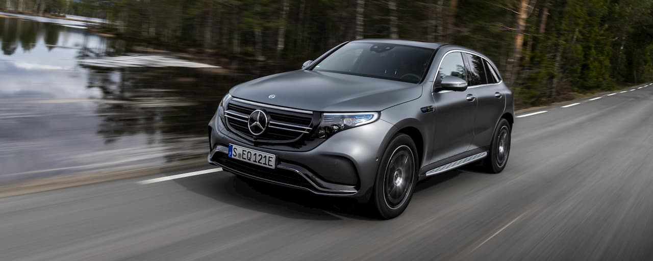 Mercedes EQC USA