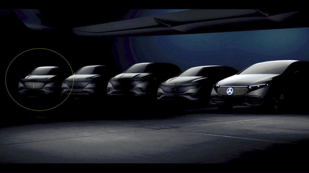Mercedes-Maybach EQ electric SUV teaser