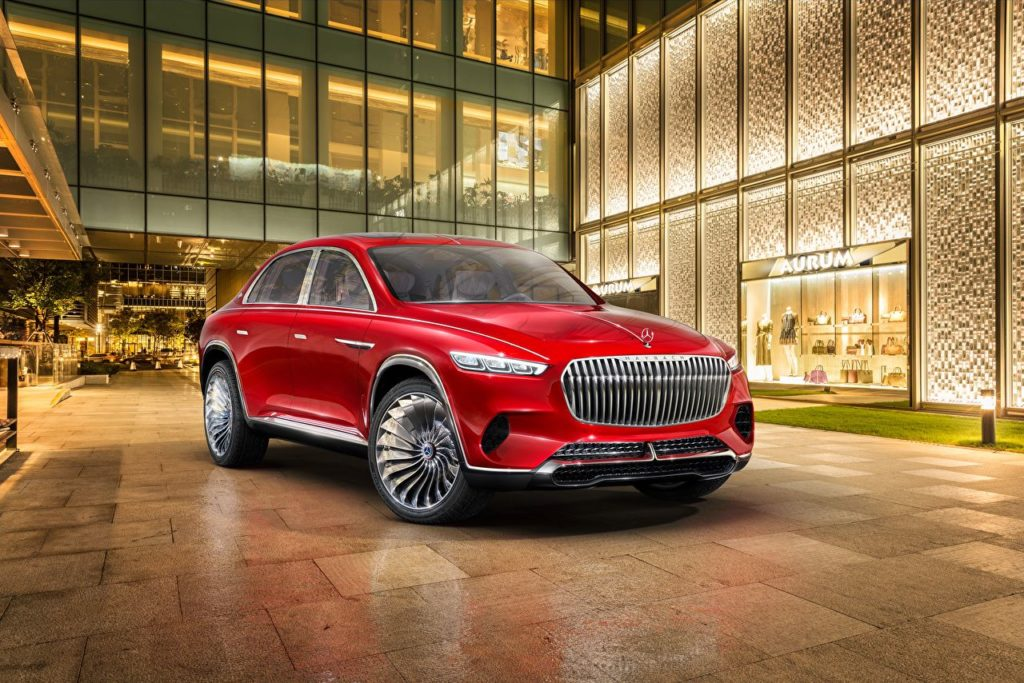 Mercedes Maybach Vision Luxury Concept front