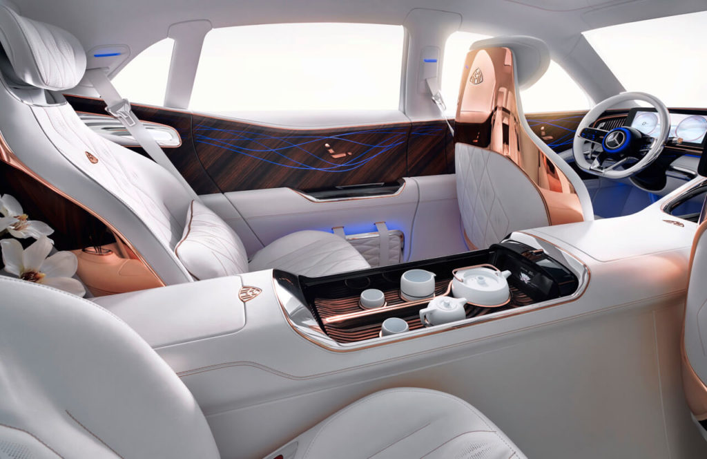 Mercedes Maybach Vision Luxury Concept interior