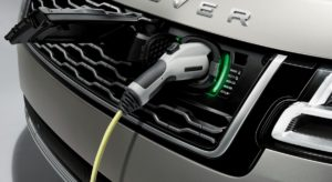 Range Rover PHEV electric charging