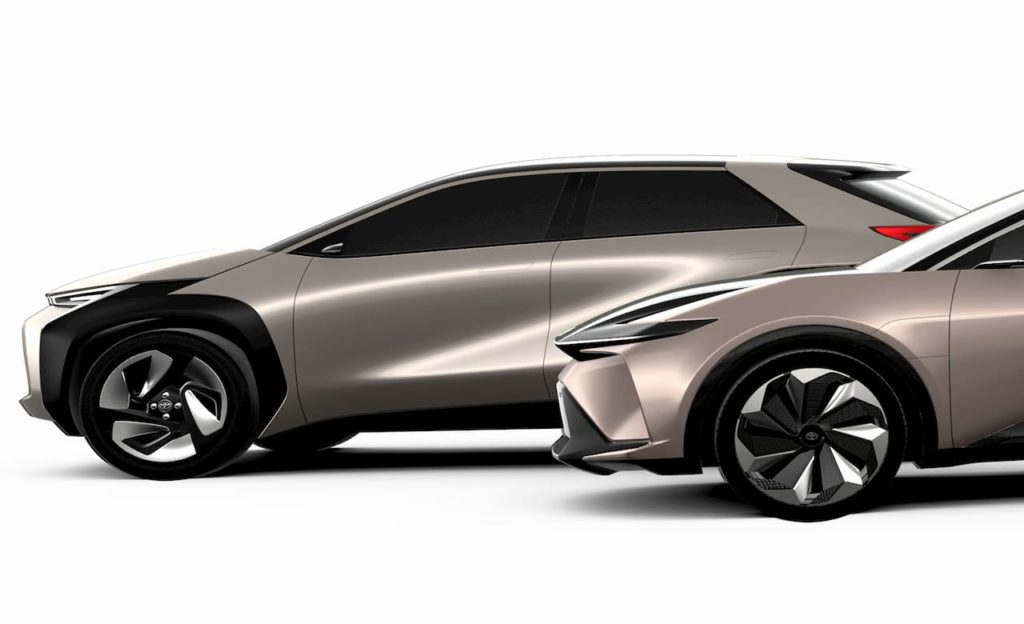 Toyota compact electric car
