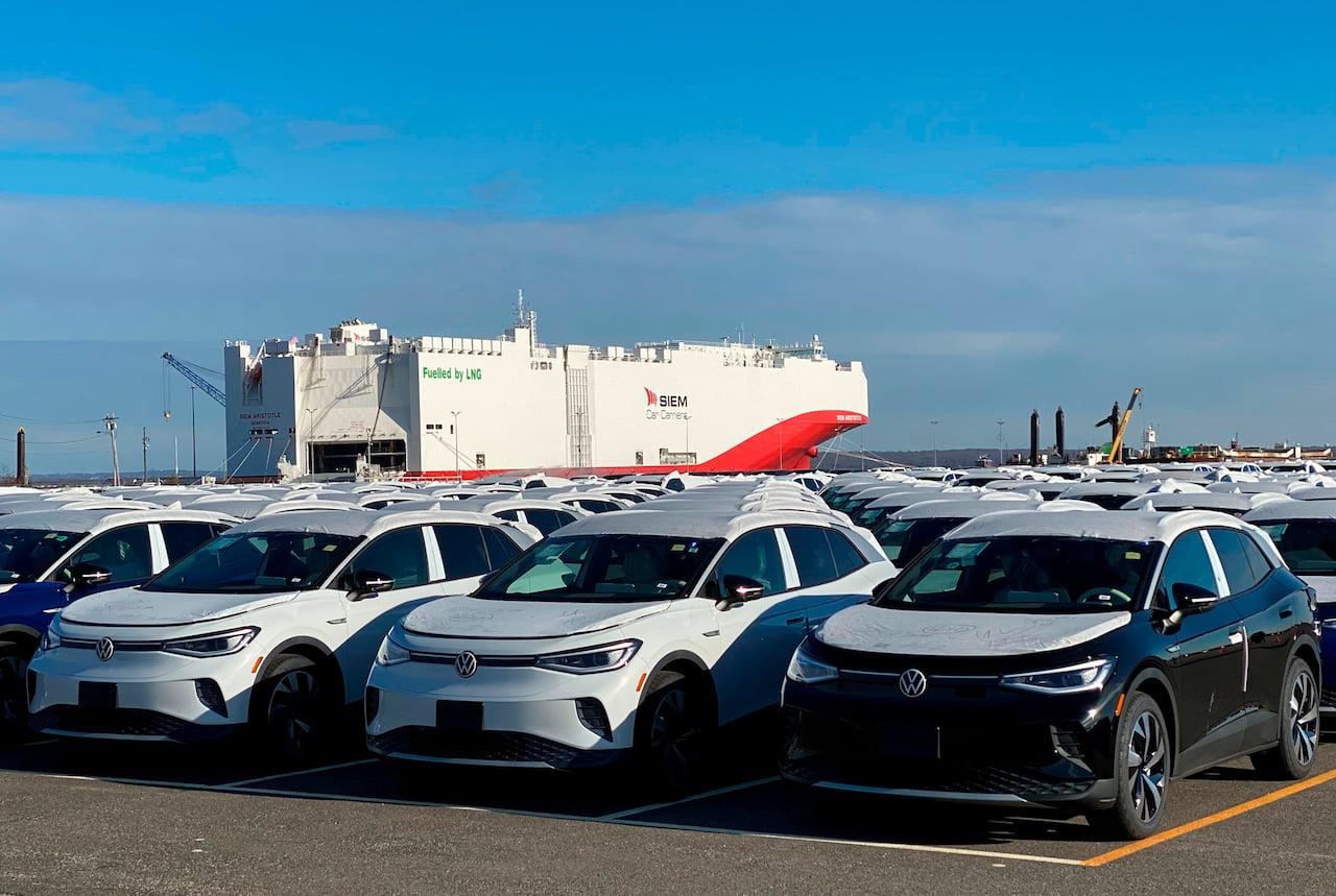 US-spec VW ID.4 export units