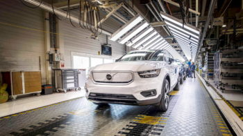 $53,990-Volvo XC40 Recharge simply can't topple the Tesla Model Y