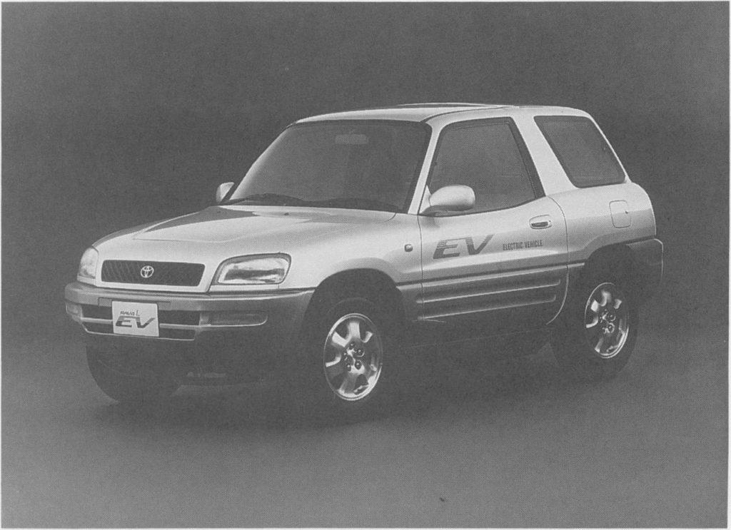 1997 Toyota RAV4 L EV 3-door (first-gen Toyota RAV4)