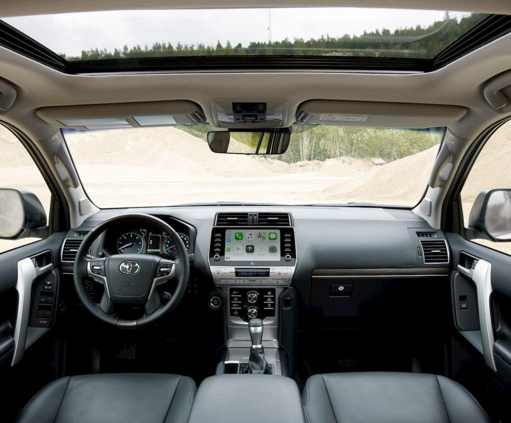 2021 Toyota Land Cruiser Prado interior dashboard