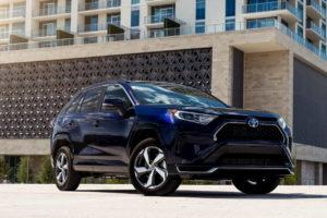 2021 Toyota RAV4 Prime PHEV front quarters