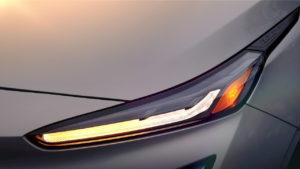 2022 Chevrolet Bolt EUV headlamp teaser