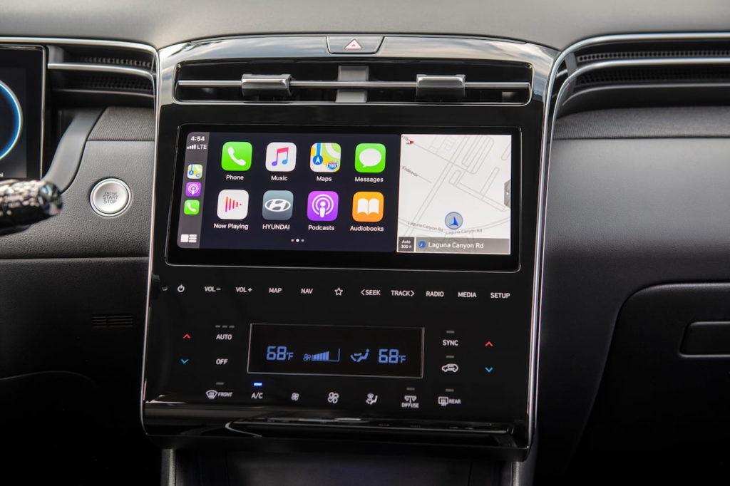 2022 Hyundai Tucson infotainment system