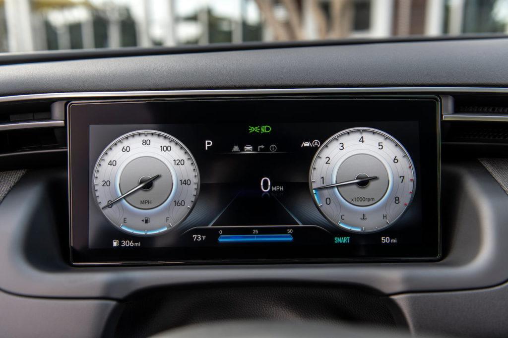 2022 Hyundai Tucson instrument cluster