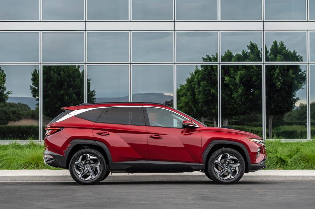 2022 Hyundai Tucson profile