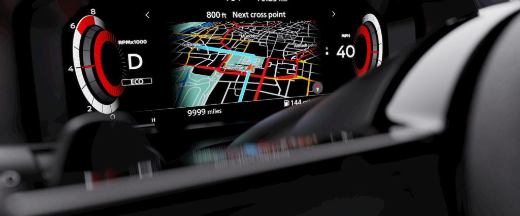 2022 Nissan Rogue Sport instrument cluster