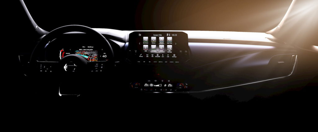 2022 Nissan Rogue Sport interior dashboard