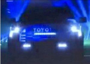 2022 Toyota Tundra front leaked dealer image