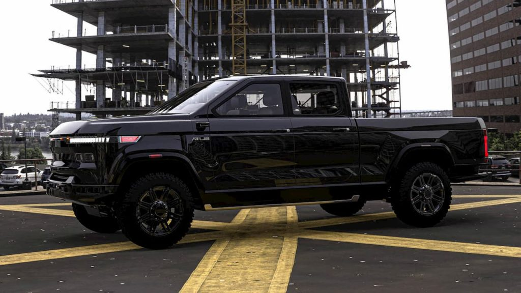Atlis XT electric pickup front design