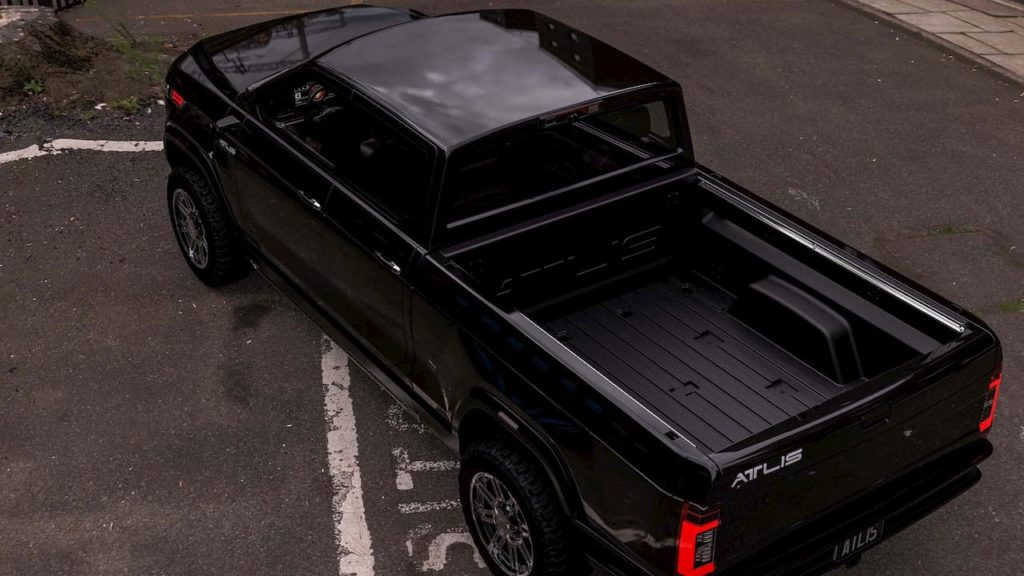 Atlis XT electric pickup truck bed