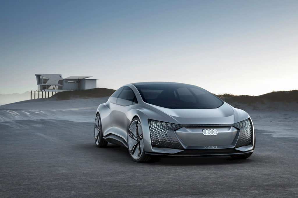 Audi Aicon concept front quarters