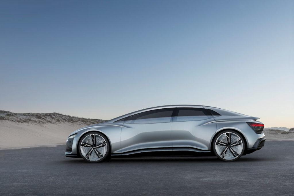 Audi Aicon concept profile