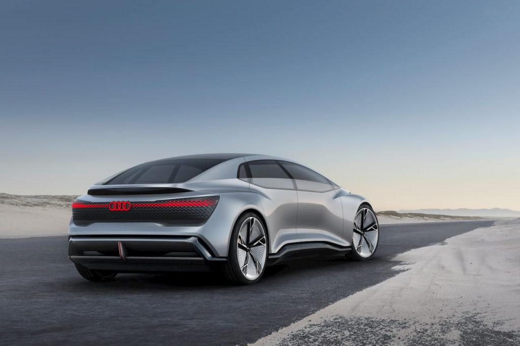 Audi Aicon concept rear quarters