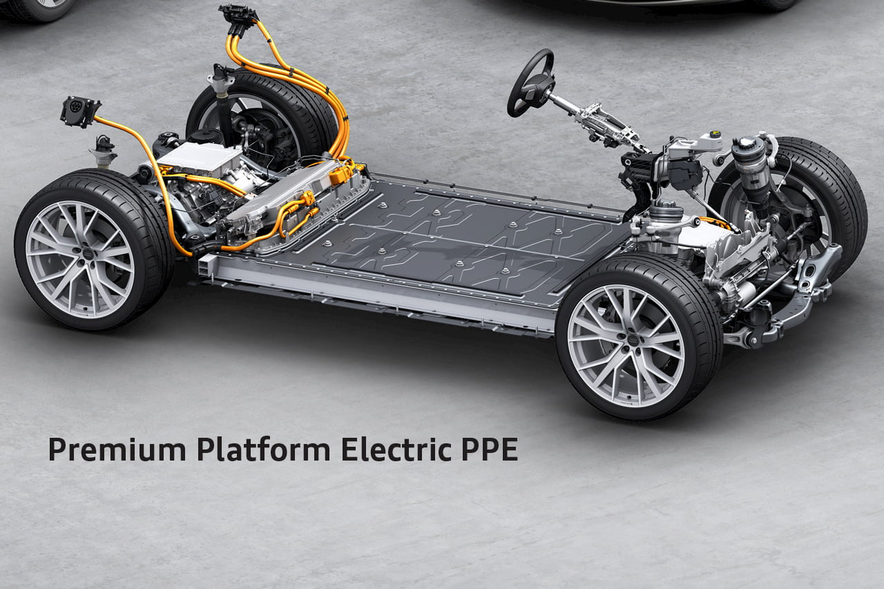 Audi PPE platform Premium Platform Electric